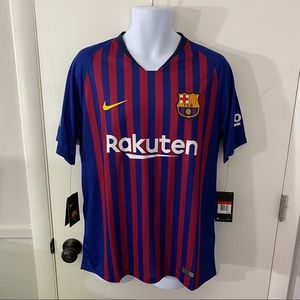 New Nike Dri-Fit FC Barcelona Home Soccer Jersey L